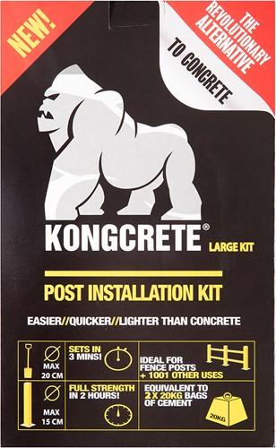 Kongcrete Large grijs tbv 2 palen