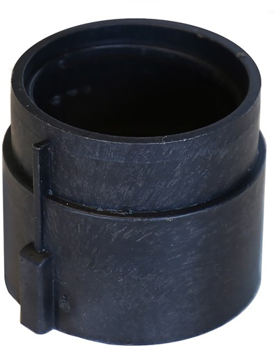 Tegeldrager Verlengstuk 40mm zwart 4cm