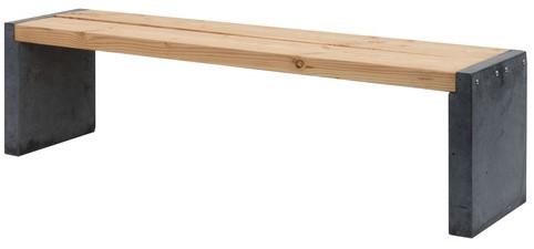 Hillhout Zitbank Excellent, 45x39x170cm (W11667)
