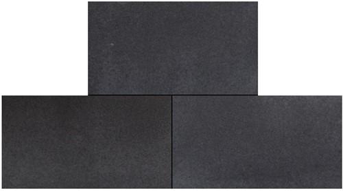 Geostretto Plus Tops 40x80x4cm Milano zwart