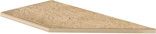 Ceramica Lastra Afdekplaat rond hoekstuk DX 30x60x2cm