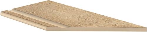 Ceramica Lastra 30x60x2cm Zwembadrand hoekstuk DX
