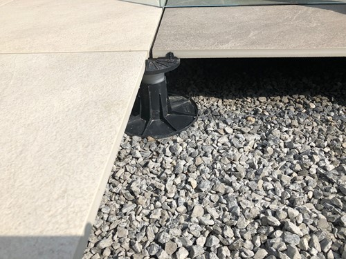 Tegeldrager Flex zwart 7 tot 10,5cm-2