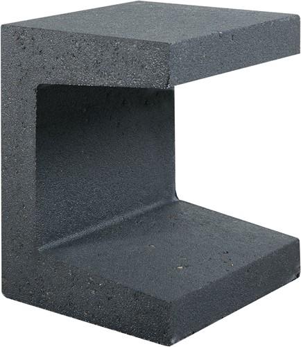 U-Element 40x40x50cm zwart