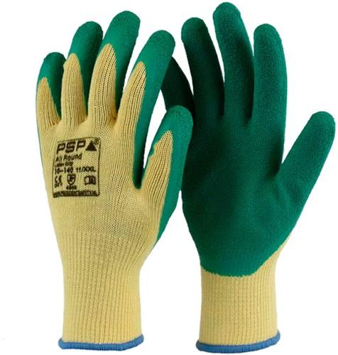 Handschoen maat 11 Bull Grip Groen