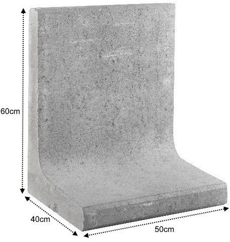 L-Element 50x40x60cm grijs