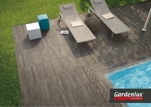 Ceramica Lastra 60x60x2cm Axi Grey Timber donkergrijs -2