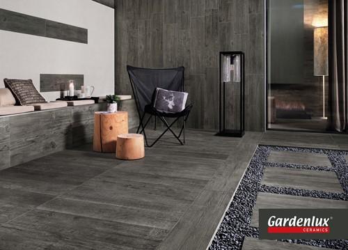 Ceramica Lastra 45x90x2cm Axi Grey Timber donkergrijs -2