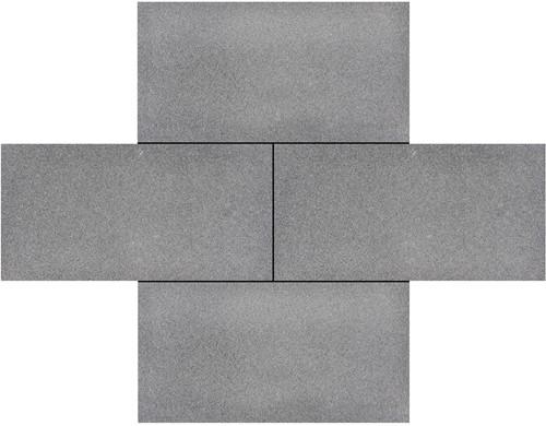 Mineral Colors 30x60x4cm Quartz Dark Grey donkergrijs