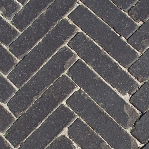Geb. Rijnformaat Getr. 4,4x18,5x8,8cm Haags zwart