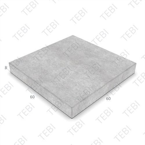 Tegel KOMO 60x60x8cm grijs