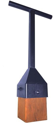 Stamper met houten blok Dewit