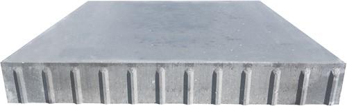 Transconplaat ZHR 120x120x16cm ongewapend grijs