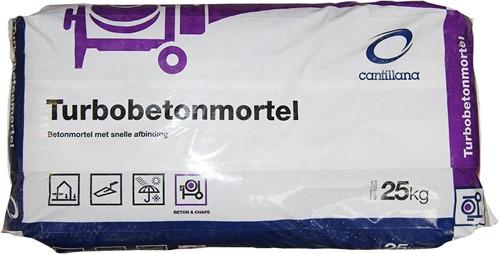 Turbo betonmortel zak 25 kg